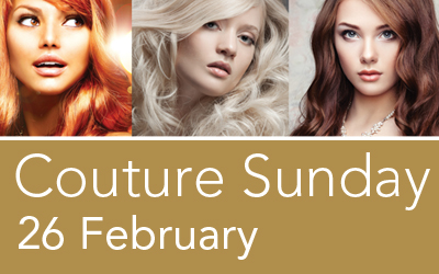 Exclusive couture-colour day on Sunday 26 February