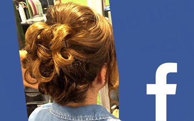 Facebook giveaway – win a free occasional hairdo