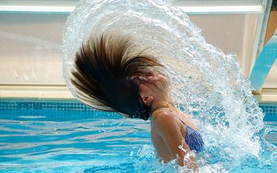 Forget pool hair. Enjoy happy hair!