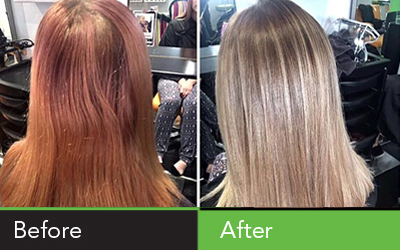From home dye to shining salon hair